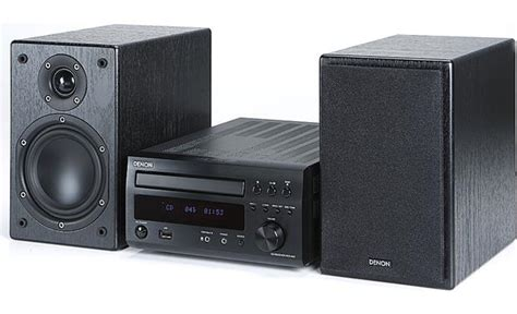 denon d m37 cd am fm micro system on research at