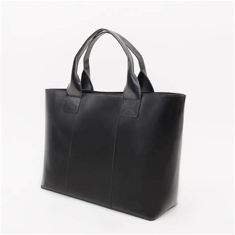 Black Fashion Bag black leather tote bag all fashion bags