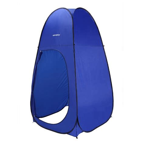pop up bathroom tent north gear cing pop up tent in blue shower changing