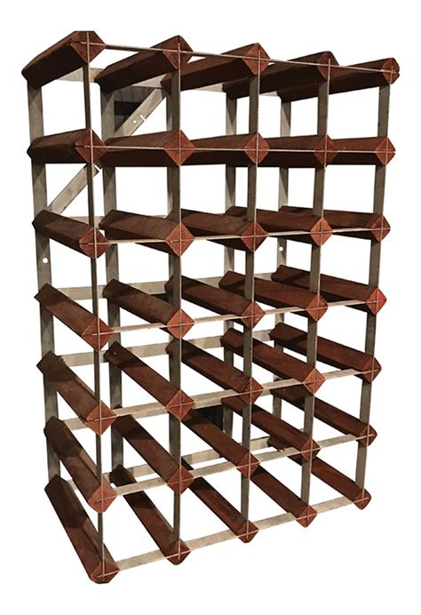 Wood And Metal Wine Rack by Mid Century Wood And Metal Wine Rack Eye Gallery