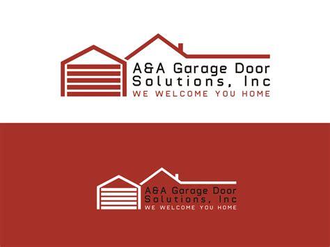 home design solutions inc garage logo design for a a garage door solutions inc quot we