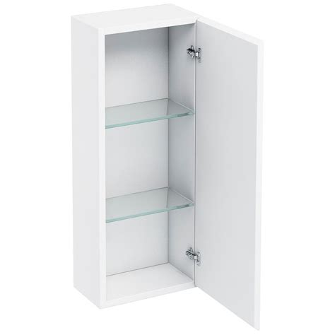 300mm wall cabinet with mirror buy online at bathroom city britton aqua cabinets white 300mm single mirror door wall