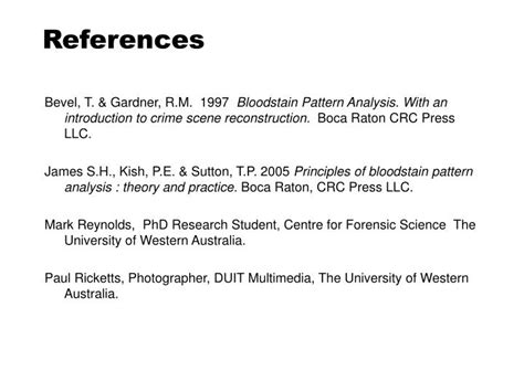 bloodstain pattern analysis with an introduction to crime scene ppt bloodstain pattern analysis powerpoint presentation