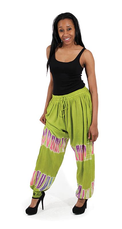 tie dye pants african womens clothing africa imports