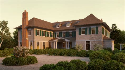 shingle style home plans meadowmere lane shingle style home plans by david neff