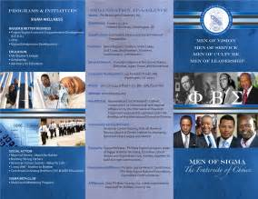 recruiting brochure template recruitment retention archives phi beta sigma