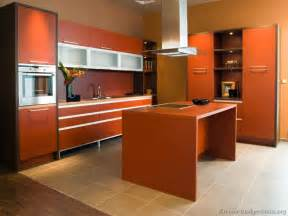 interior design ideas for kitchen color schemes pictures of modern orange kitchens design gallery