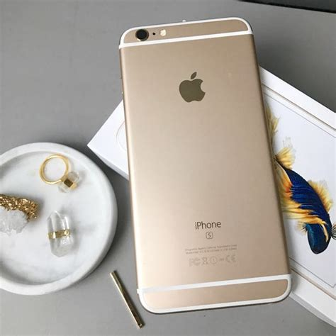 Iphone 6 Plus 6s Plusbaseus Shining Gold iphone 6s plus gold 16gb 9 5 10 mobiles tablets iphone iphone 6 series on carousell