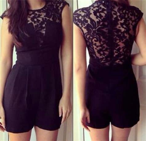 Lace Jumper Dress dress black lace jumper wheretoget