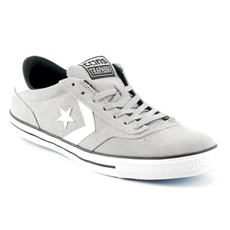 Converse Ct As Ii Ox Thunder Grey Original converse trapasso 2 ox grey forty two skateboard shop