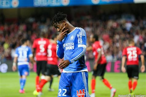Calendrier Ligue 1 4eme Journee Photos Om Deception Michy Batshuayi 28 08 2015