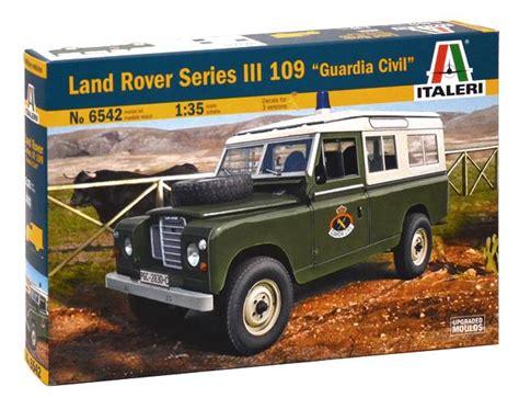land rover italeri italeri 1 35 land rover series iii 109 quot guardia civil quot 6542