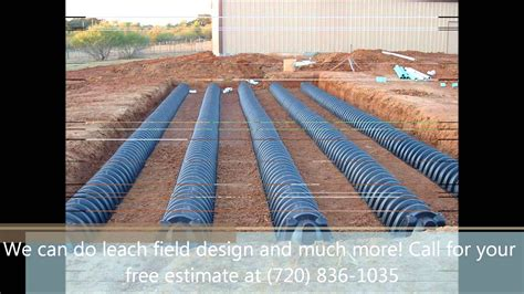 Field Designs Line For Payless by Septic Systems Install Denver Leach Field Sump