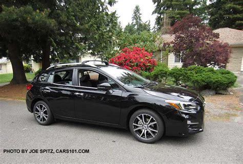 2017 subaru impreza hatchback black 2017 subaru impreza 5 door hatchback exterior photos page