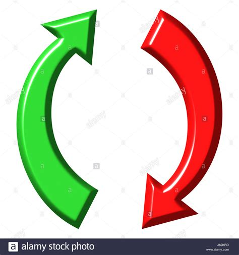 trade symbol up and down concept 3d stock photos up and down concept