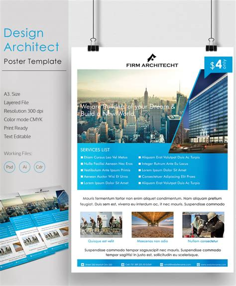 79 poster templates free psd ai vector eps format