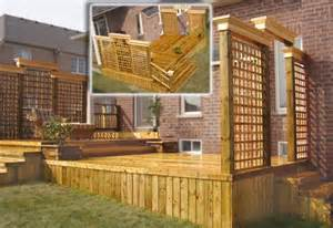 deck privacy lattice deck lattice frame deck design and ideas