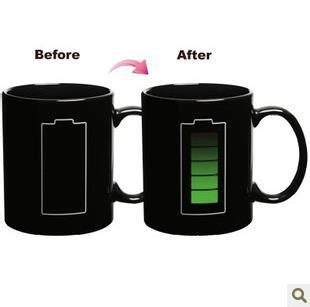 amazing mugs free shipping battery color changing mug cup amazing