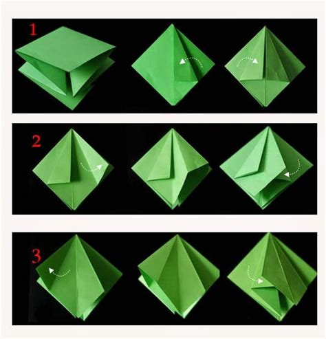How To Make A 3d Paper Tree - origami tree 3d paper origami guide