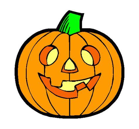 dibujos halloween a color imagui dibujo de calabaza iv pintado por calabaza en dibujos net