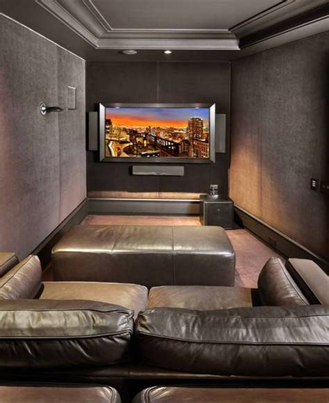 Home Theater Decor Ideas best 25 small home theaters ideas on pinterest theatre