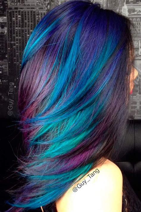 blue hair colors ideas   pinterest blue
