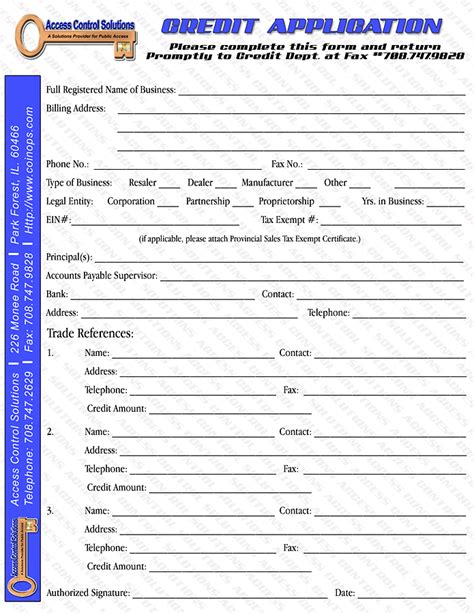 Credit Repair Agreement Form Forms