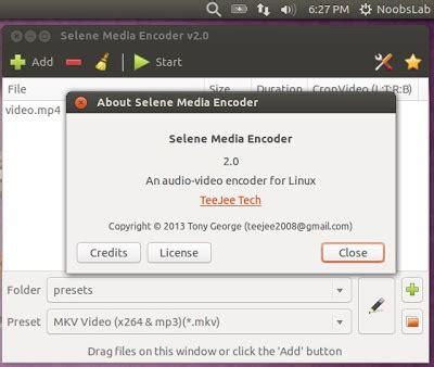 Ubuntu Resume Process Terminal by Selene Media Converter For Ubuntu Linux Mint Other Ubuntu