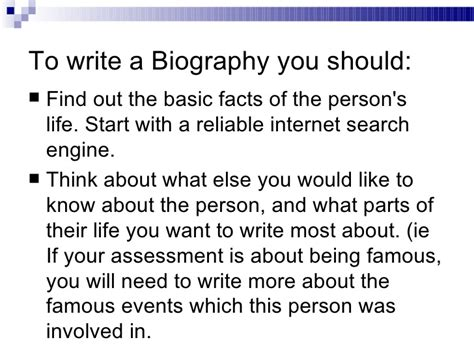what is a biography and autobiography powerpoint powerpoint biography analysis