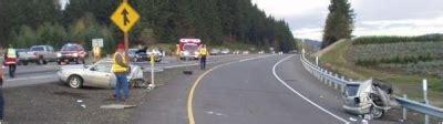 man walks away from crash after his car is split in half