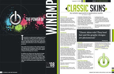 great publication layout design win magazine spread by mattnagy on deviantart