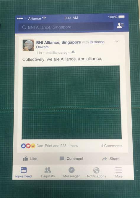 design frame for facebook facebook selfie frame design production on behance