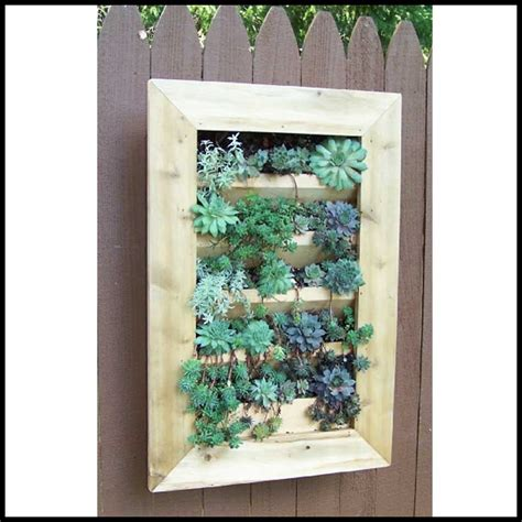 vertical wall planters vertical cedar wall planter 2 sizes