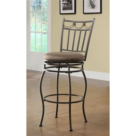 home decorators collection swag swivel bar stool 02761mtl