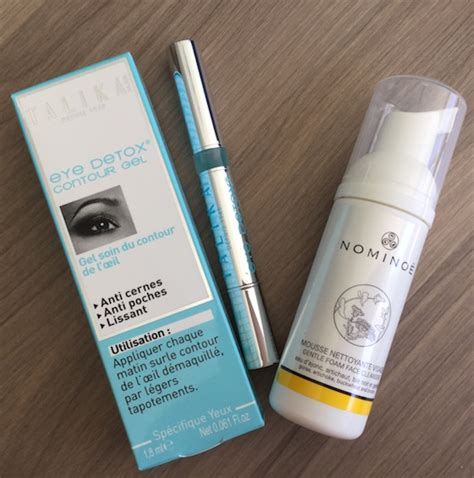 Talika Eye Detox Review by Oui Subscription Box Review March 2015 My