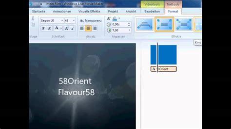 windows movie maker intro tutorial intro erstellen mit windows live movie maker tutorial