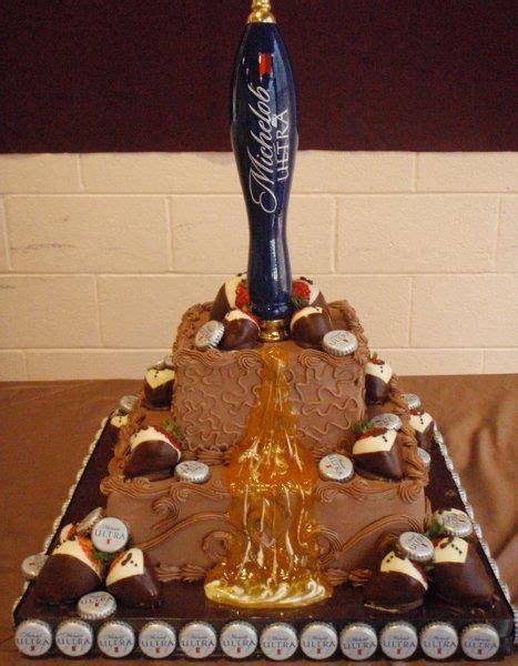 craft beer cake beer wedding cakes ultra beer tap and strawberries