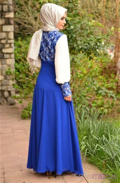 Mazaya Blus Abaya Model 21 Zt10167 sefamerve abaya dress pdy 3243y 09 saxon blue
