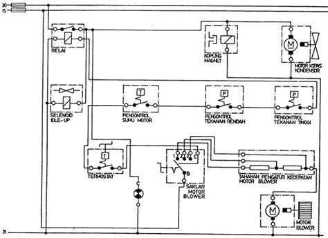 wiring diagram kelistrikan mobil travelwork info