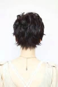 back viewof shag hairdstyles 15 back of pixie cuts pixie cut 2015