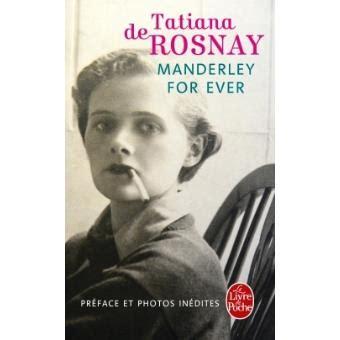 manderley for ever roman manderley for ever poche tatiana de rosnay livre tous les livres 224 la fnac