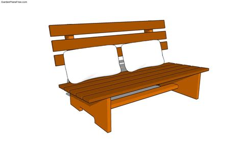 garden bench plans free plans to build a wooden park bench house design and