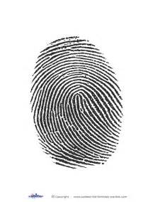 fingerprint template free printable fingerprint card template myideasbedroom