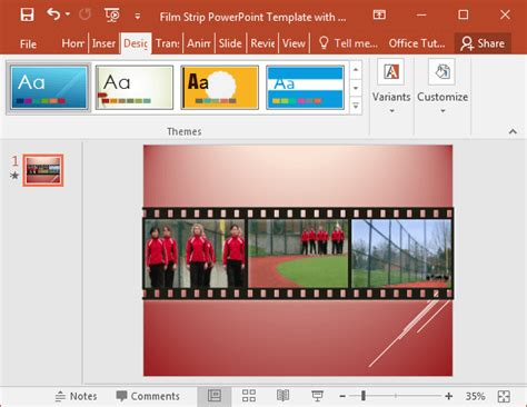 filmstrip powerpoint template filmstrip powerpoint template with sle
