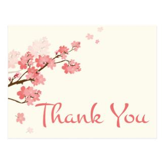 For You In Blossom 4 cherry blossoms thank you gifts on zazzle