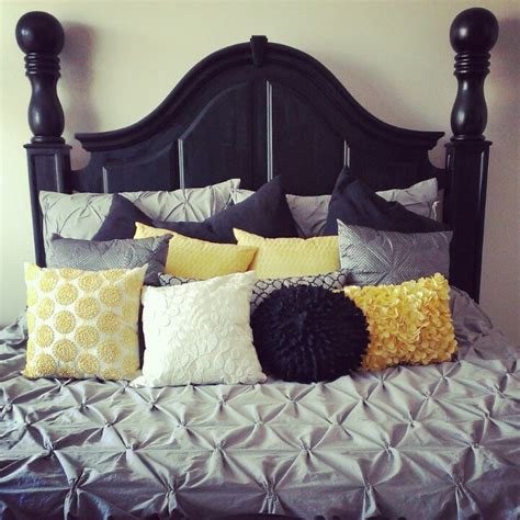 black white and yellow bedroom bedroom gray black yellow and white bedroom ideas