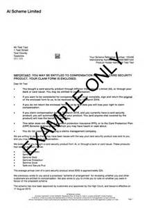 template for claiming ppi how to write a letter bank about ppi claim claim template