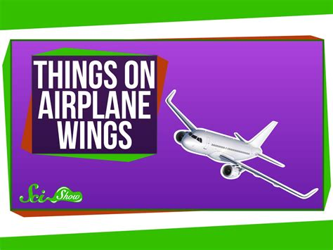those things what are those things on airplanes wings from