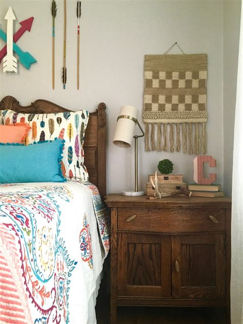bohemian teen bedroom boho chic teen girls room makeover adventure awaits