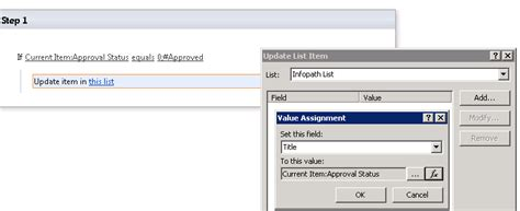 sharepoint 2010 workflow create list item in another site sharepoint 2010 workflow how to change approval status
